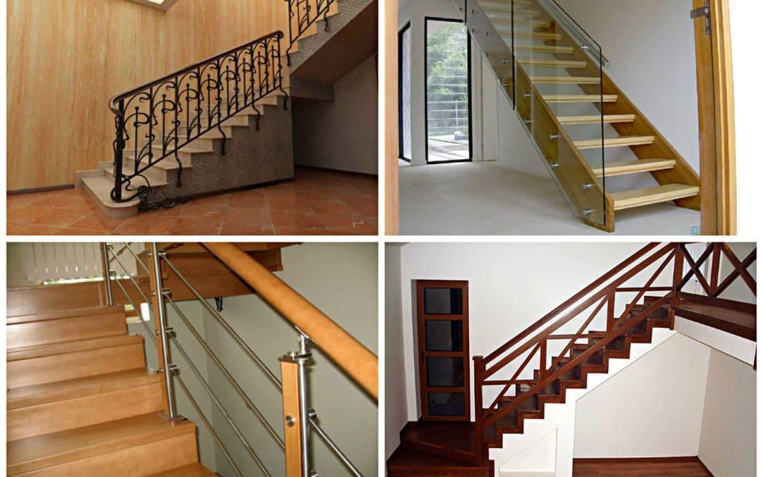 Выбор ограждения для лестницы в частный дом
