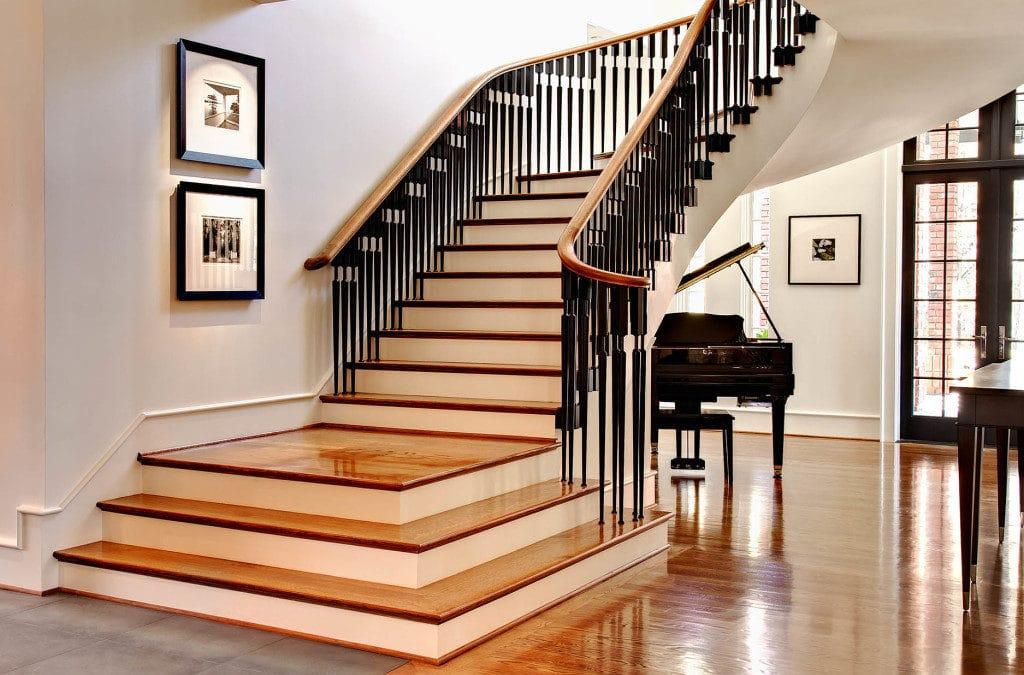 Лестницы в разных стилях