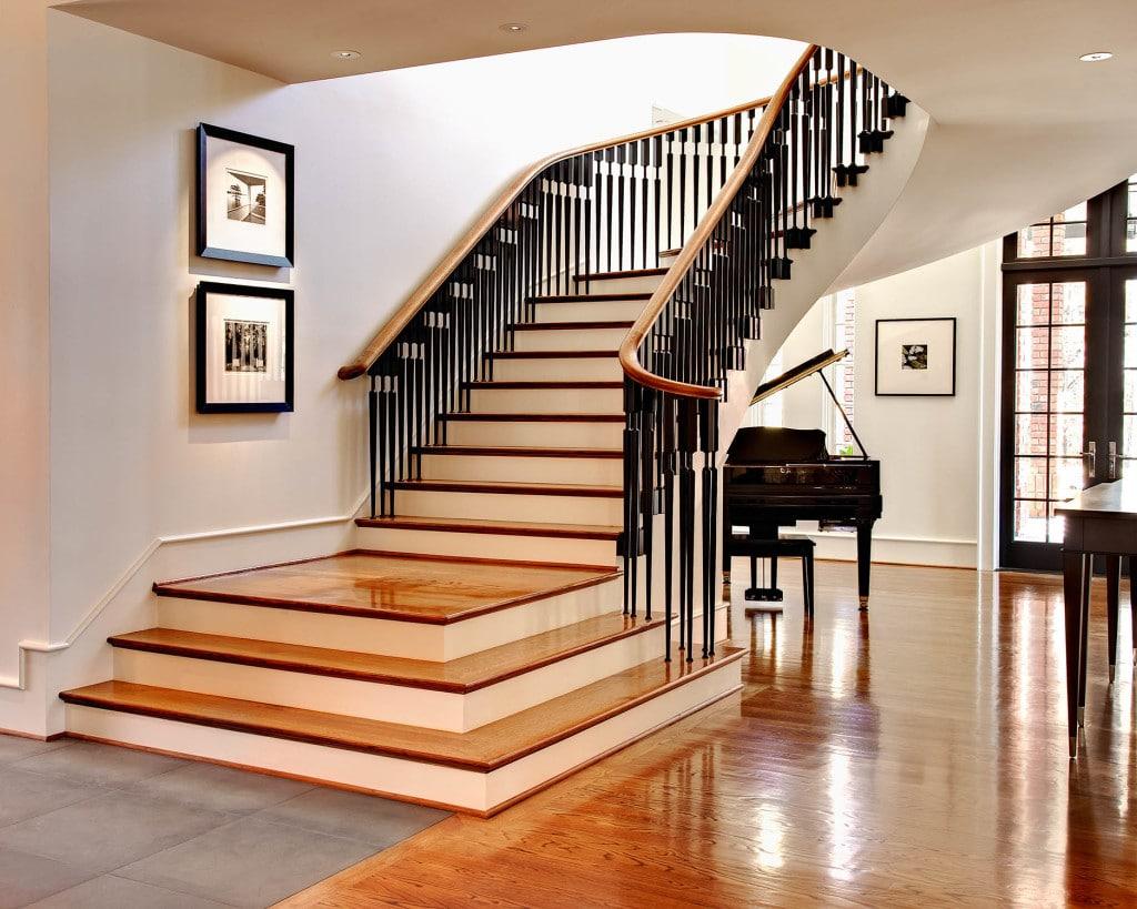 Лестницы в разных стилях фото