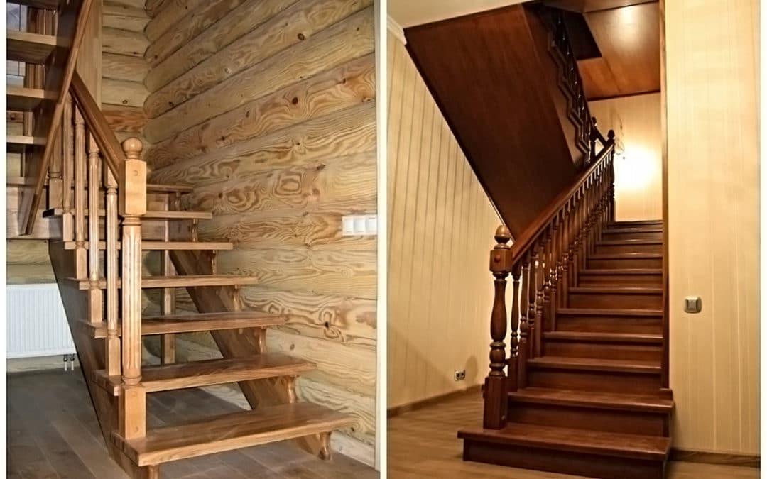 Требования к деревянным лестницам в частных домах